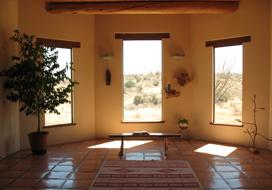 Santa Rita Abbey retreat house chapel