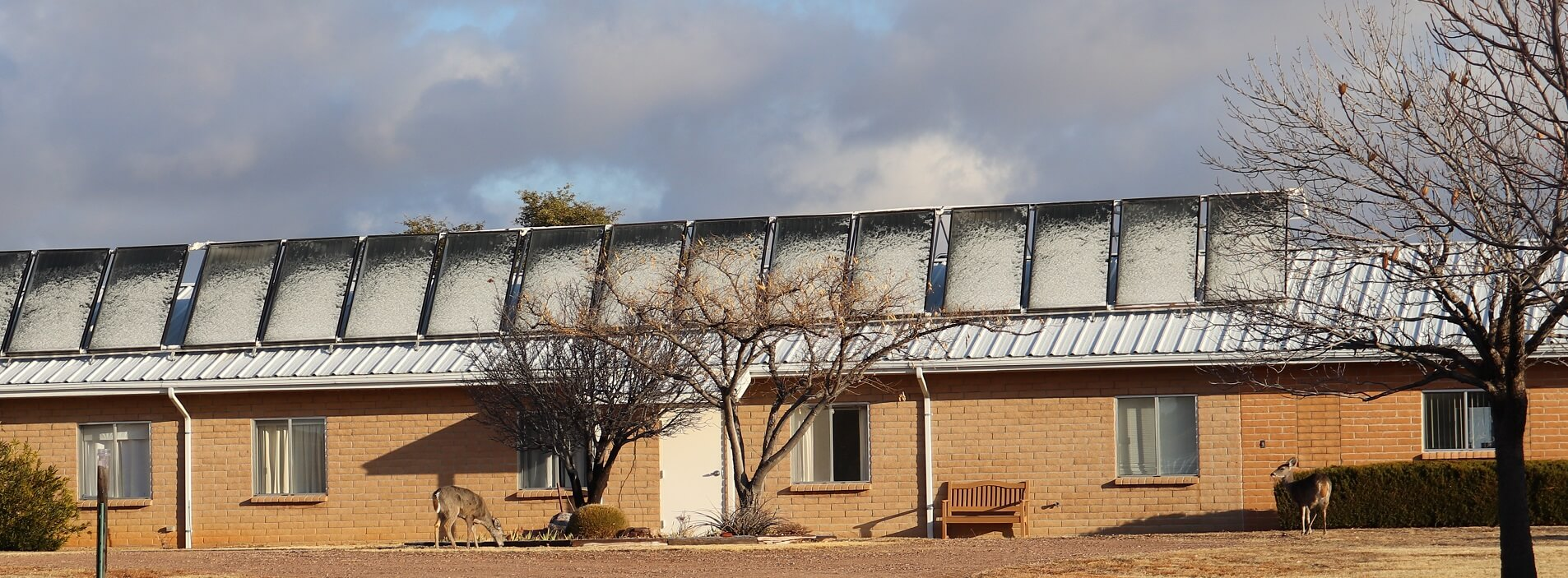 Image 3 – 2020 02 07 snowy solar panels