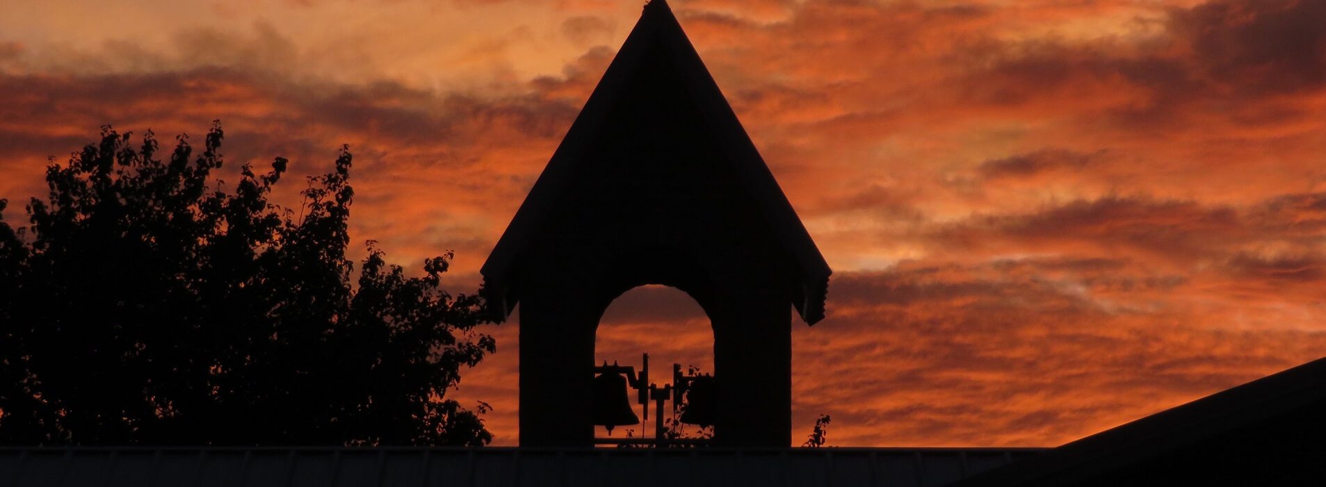Image 1 – 2020 07 15 bell tower sunset