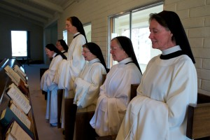 Sisters at the Divine Office